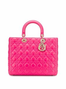 Christian Dior Pre-Owned 2000's Lady Dior tote bag - Pink