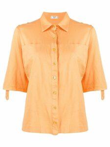 Céline Pre-Owned loose shortsleeved shirt - Orange