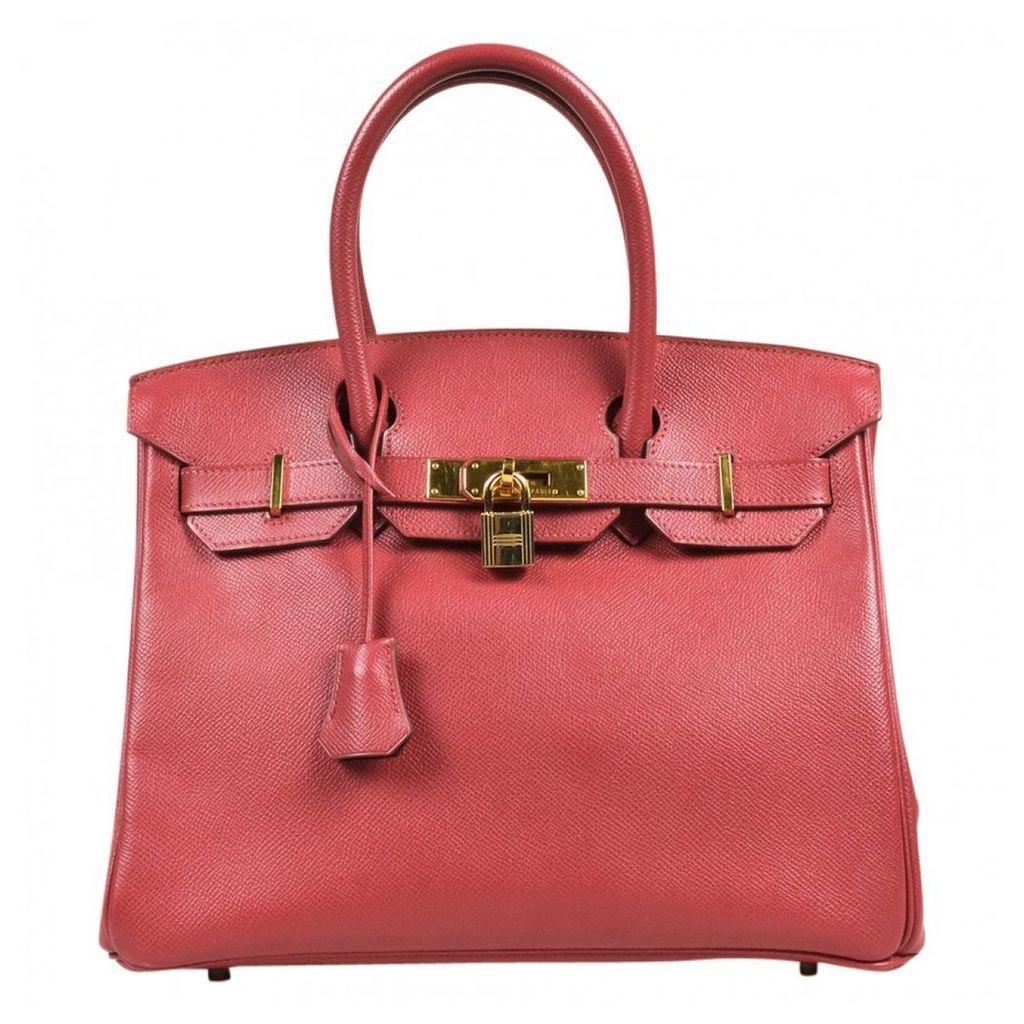 Birkin 30 leather handbag