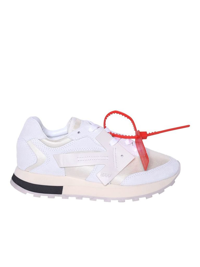 Off-white High-cut Running Sneakers
