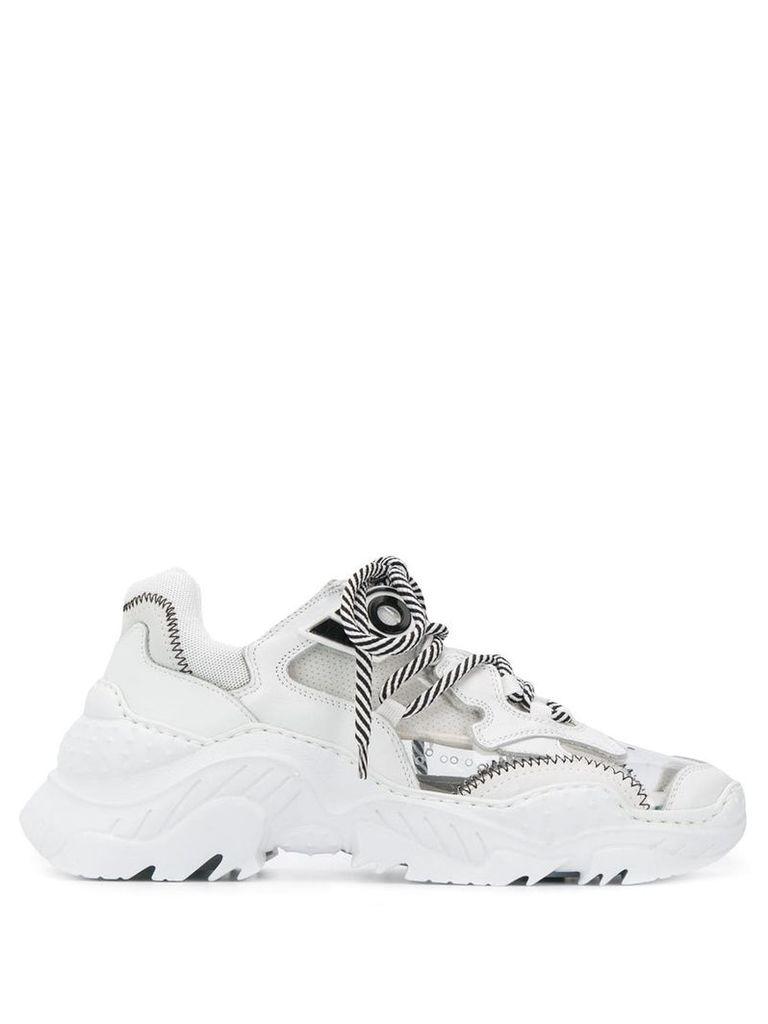 Nº21 Billy PVC sneakers - White