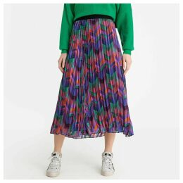 Paolo Pleated Multi-Coloured Skirt