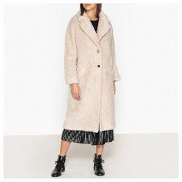 Johnny Long Fluffy Coat