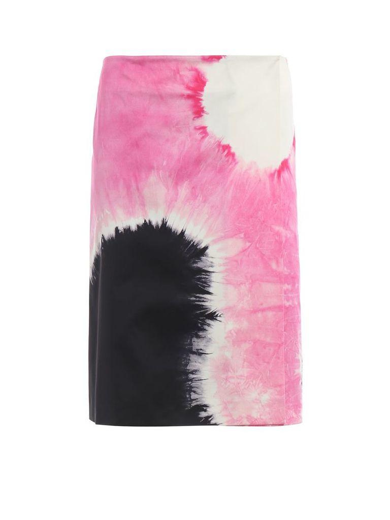 Prada Patterned Skirt