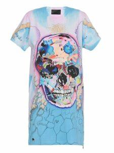 Philipp Plein Cotton Multicolor Dress