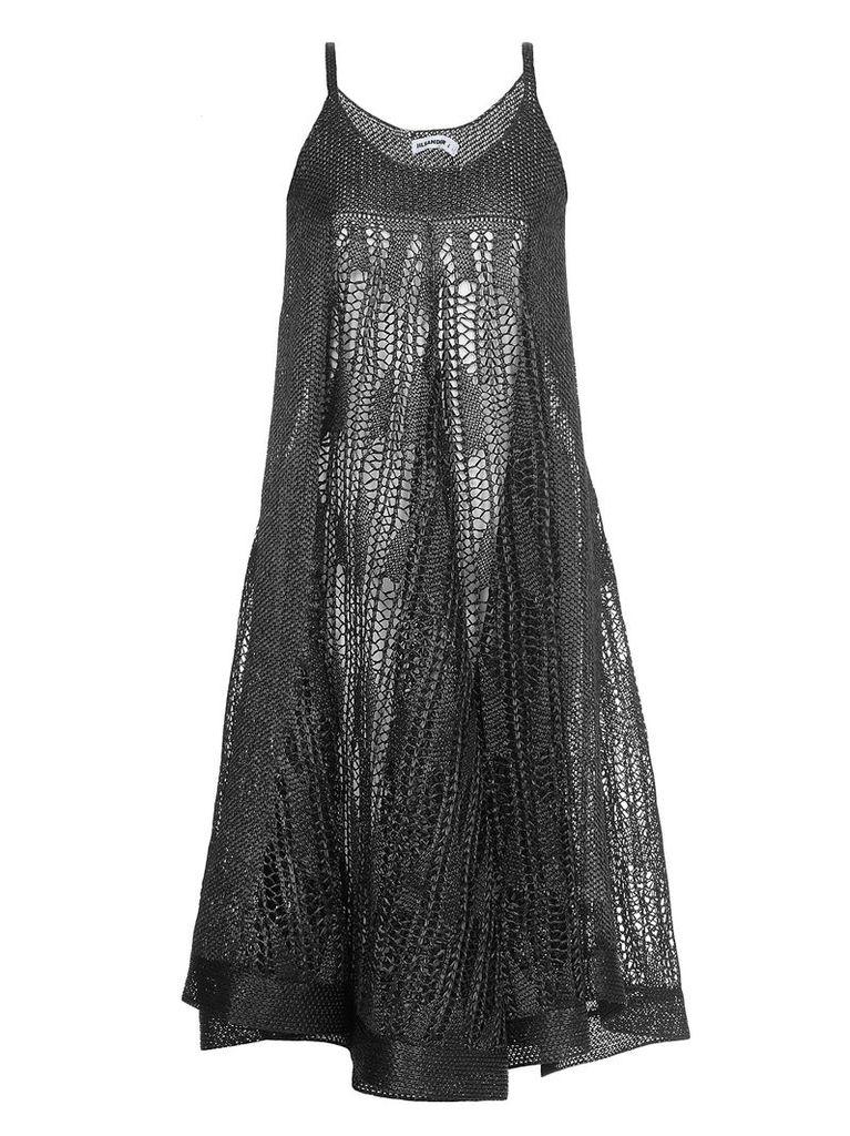 Jil Sander Openworked Dress