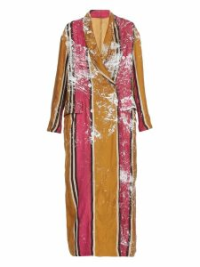 Uma Wang Double Breasted Overcoat