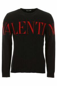 Valentino Logo Intarsia Pullover
