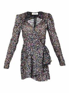 The Attico Sequined Short Dress