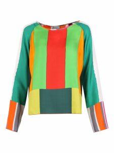 Pierre-Louis Mascia Color-block Blouse
