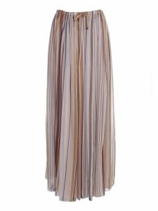 Brunello Cucinelli Striped Skirt