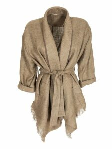 Brunello Cucinelli Fitted Belted Coat