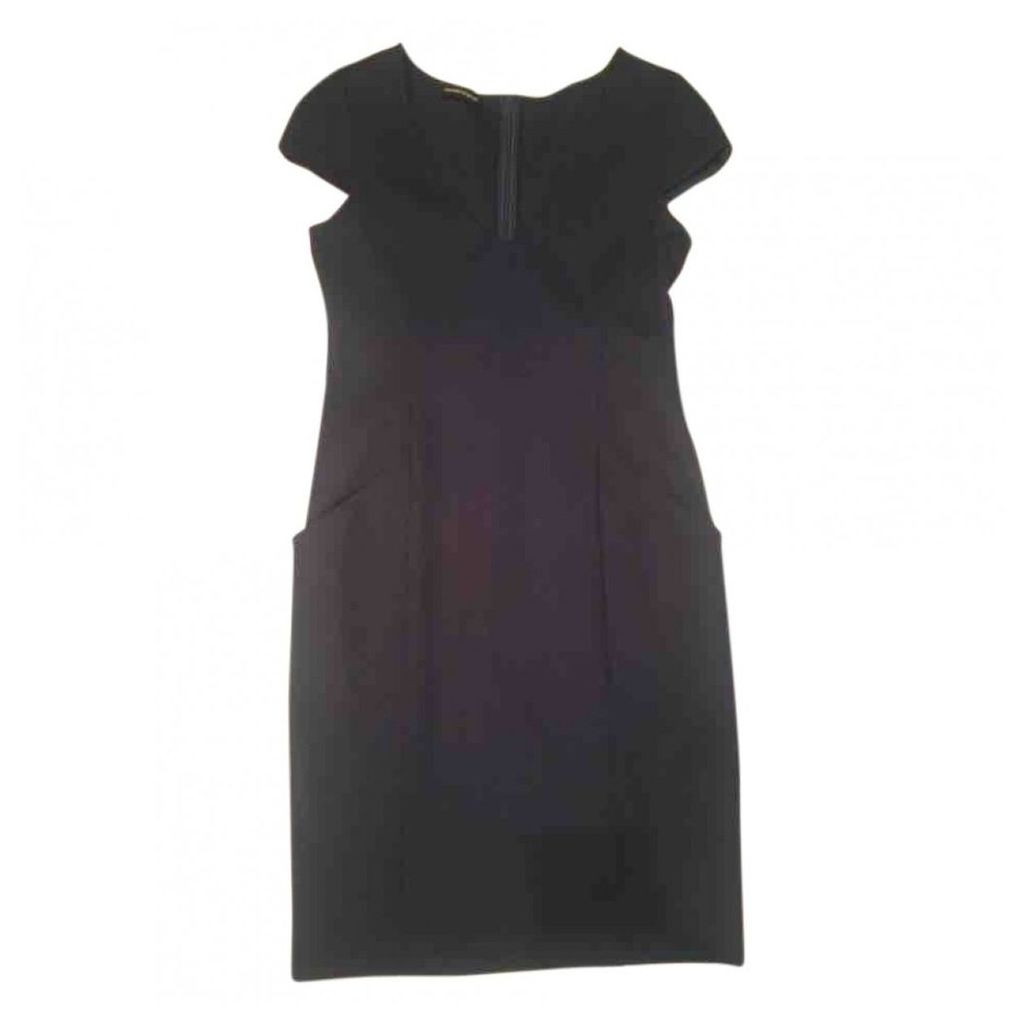Wool mid-length dress