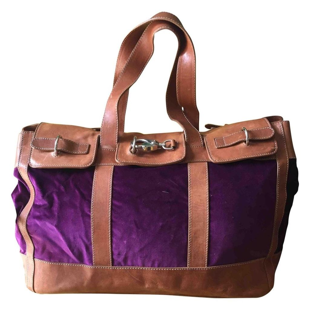 Leather 48h bag