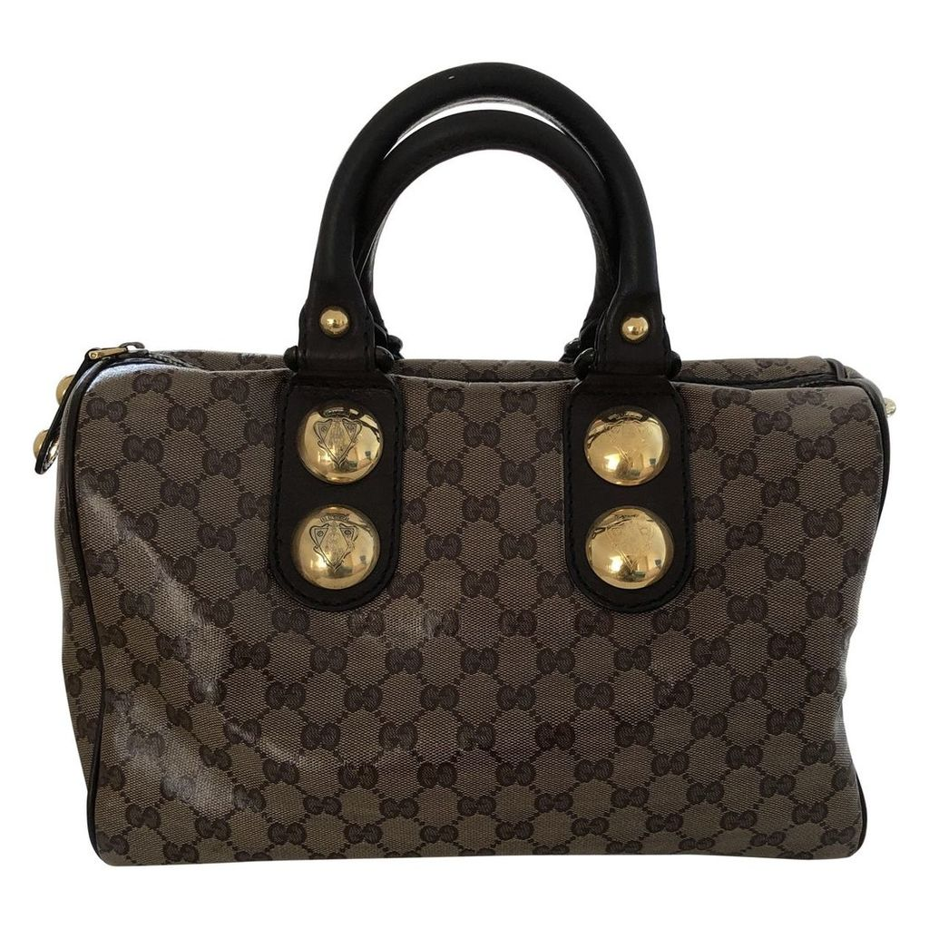 Boston cloth handbag