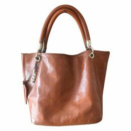 Daligramme leather handbag