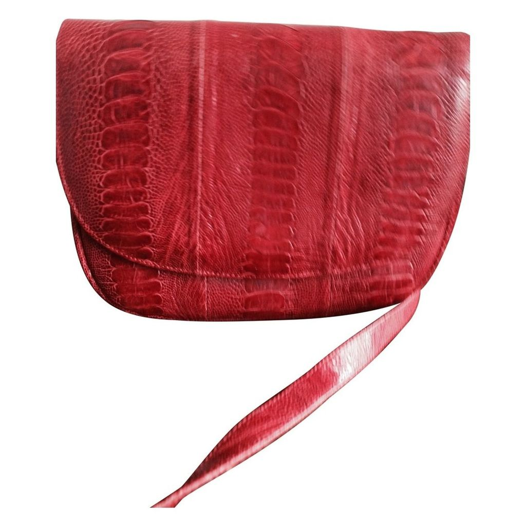 Exotic leathers handbag