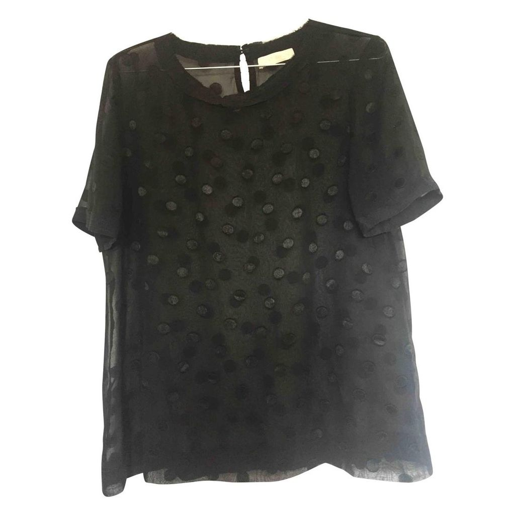 Black Polyester Top