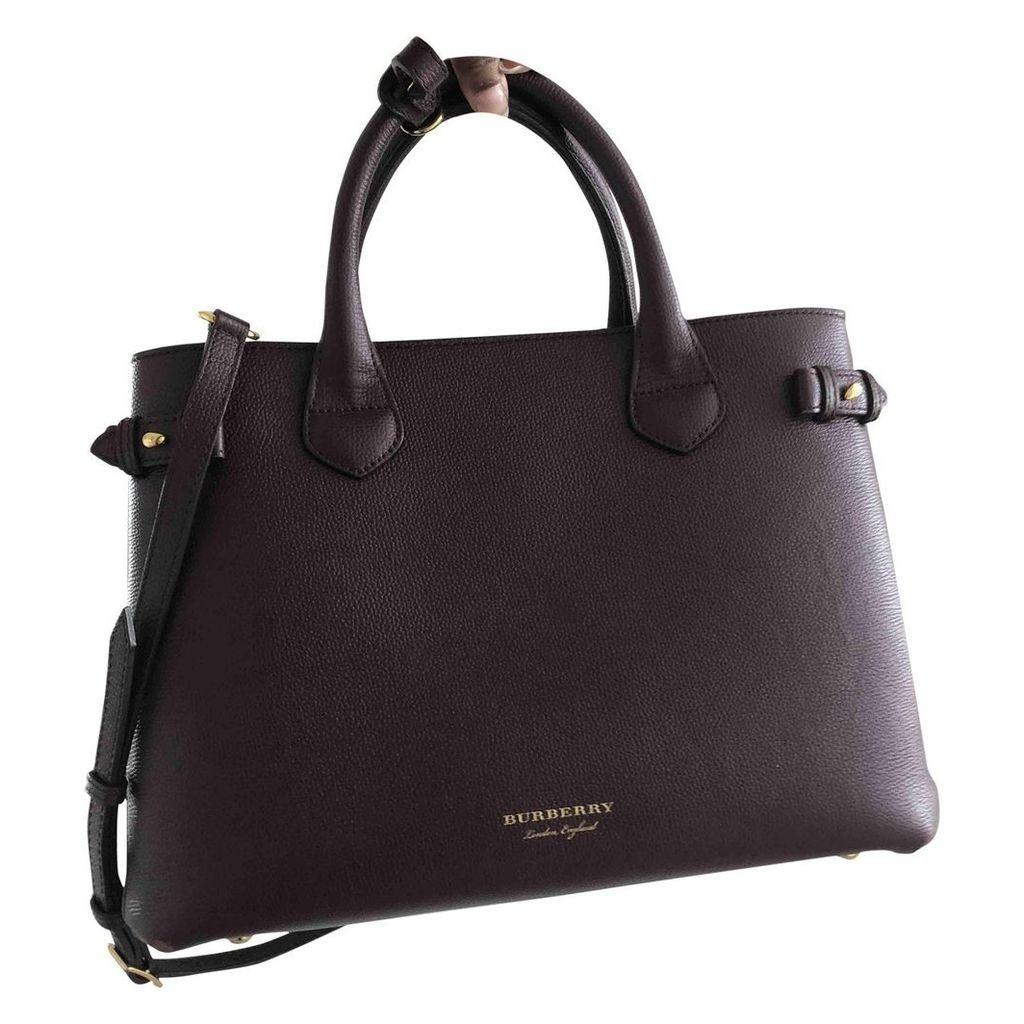 The Banner leather handbag