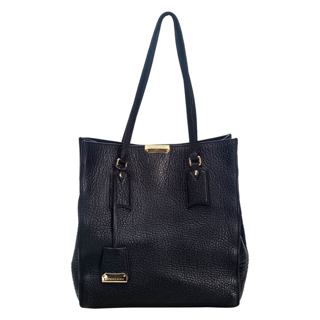 Woodbury leather tote