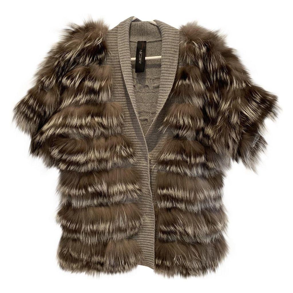 Raccoon short vest