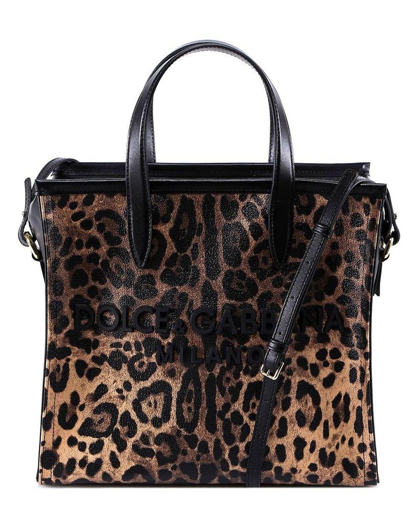 Dolce & Gabbana Shopping Market Bag Handbag