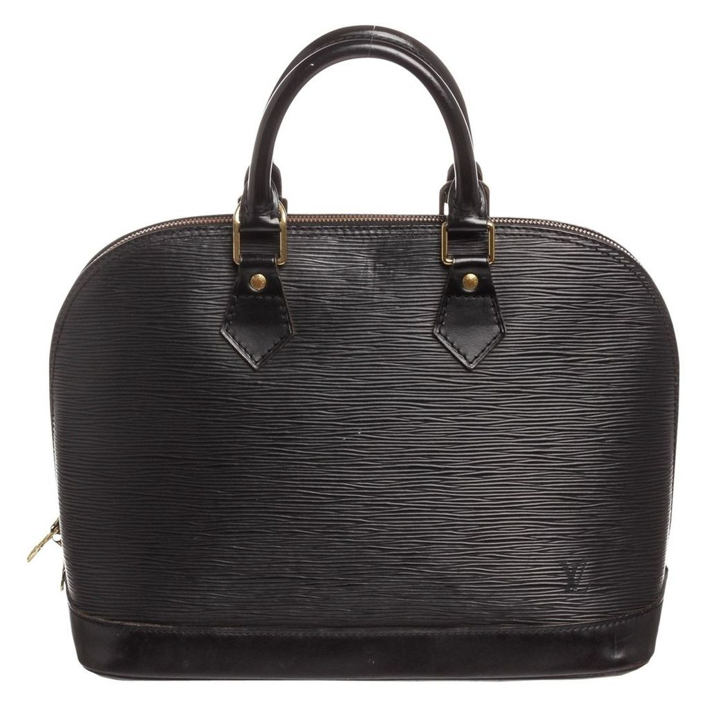Alma leather satchel