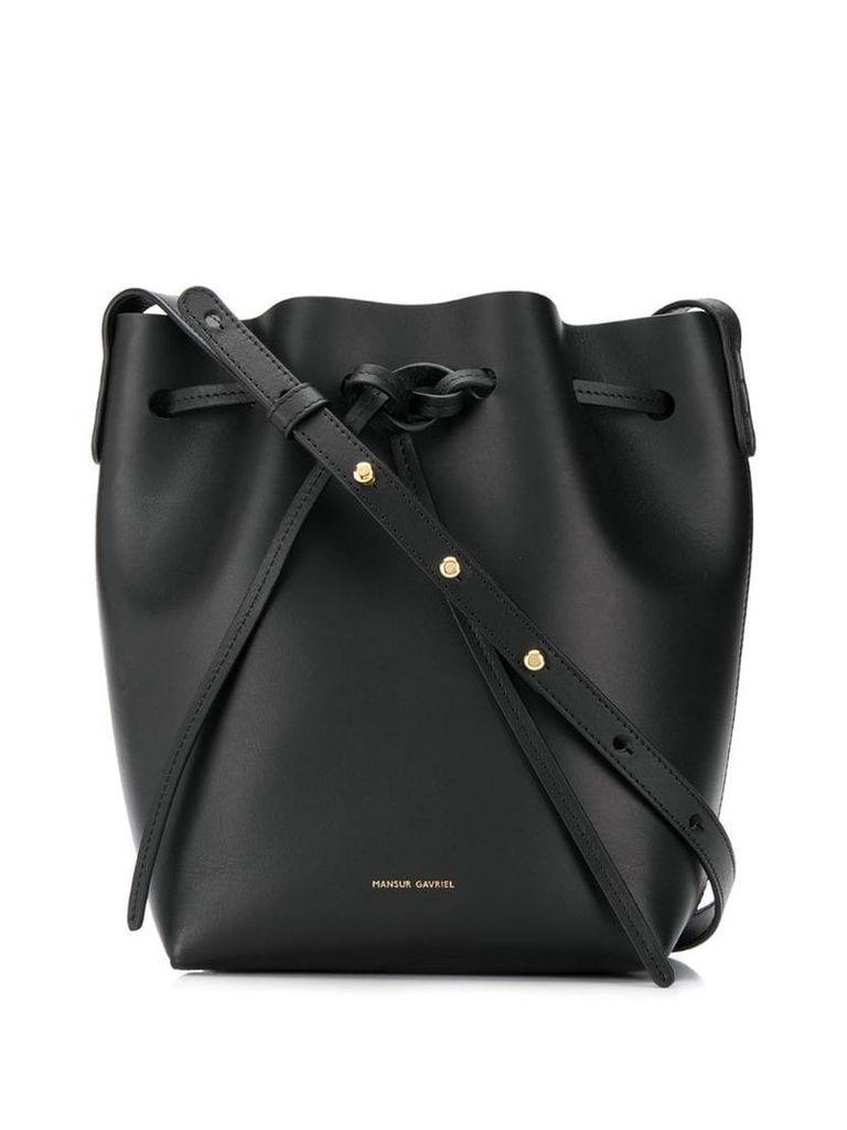 Mansur Gavriel classic bucket bag - Black