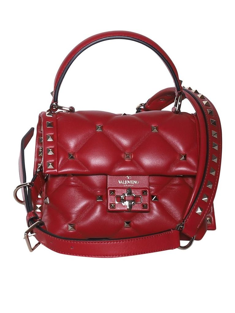 Valentino Garavani Embellished Quilted Tote
