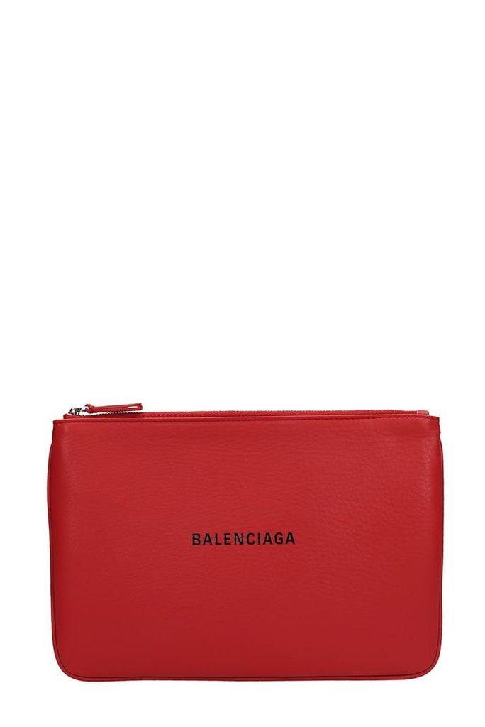 Balenciaga Balenciaga Everyday Logo Pouch