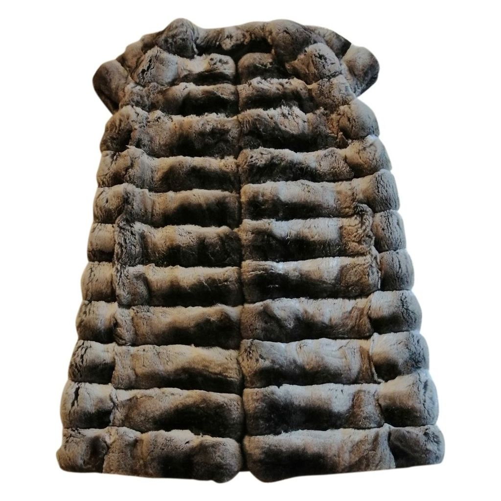 Chinchilla cardi coat