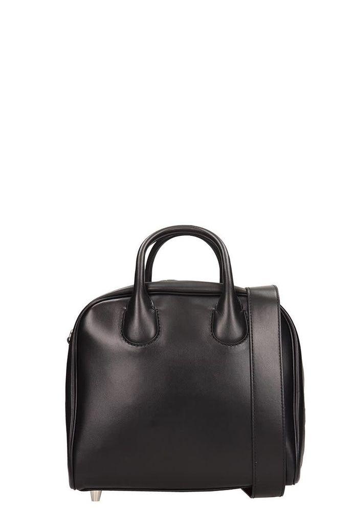 Christian Louboutin Black Leather Marie Jane Bag