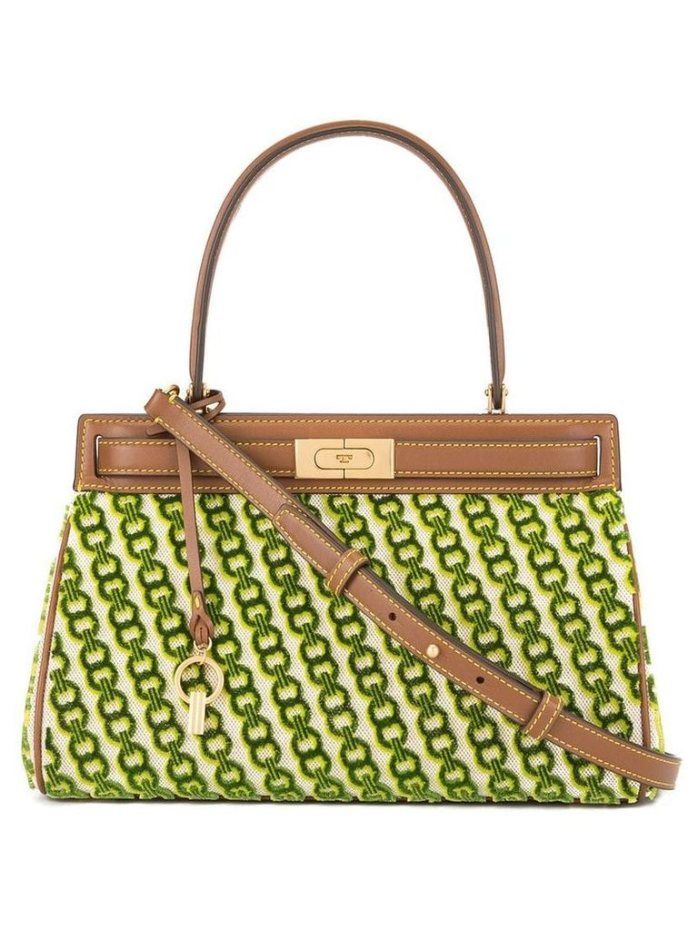 Tory Burch Lee Radziwill small satchel - Green