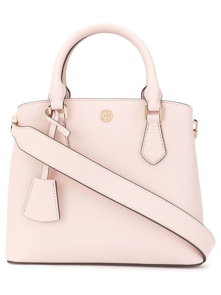 Tory Burch Robinson small triple-compartment tote - Pink