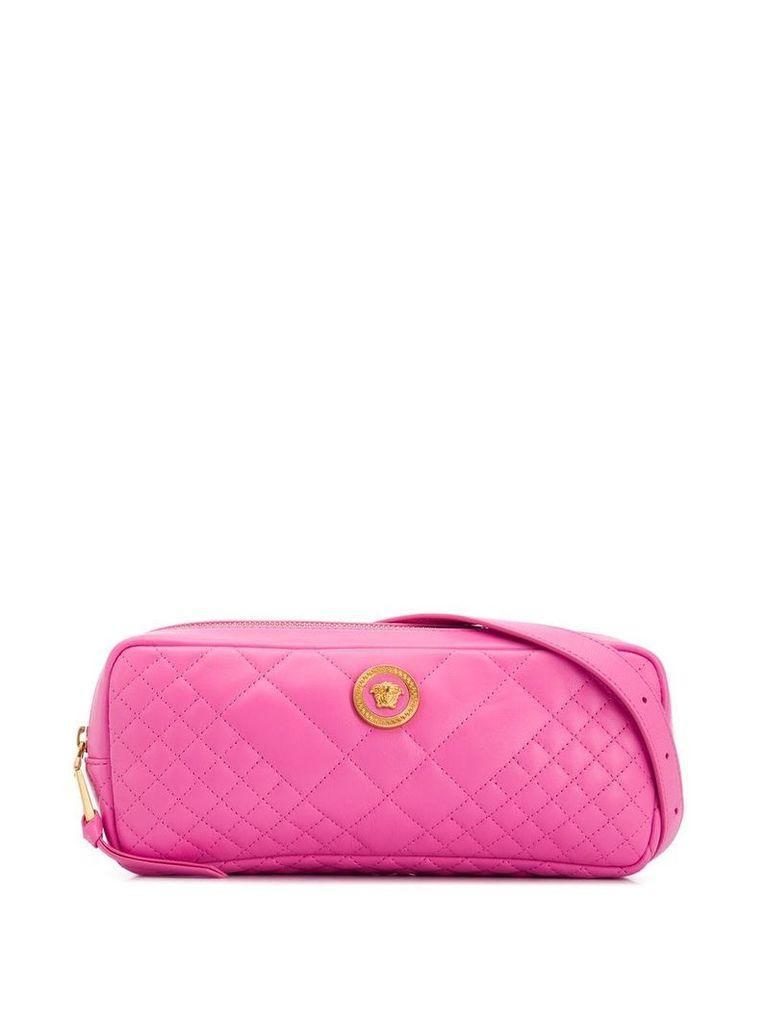 Versace quilted shoulder bag - Pink