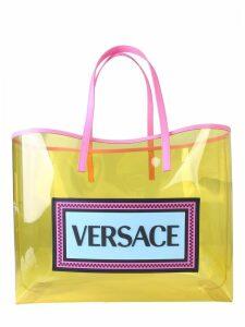 Versace Vintage Logo 90s Shopper Bag
