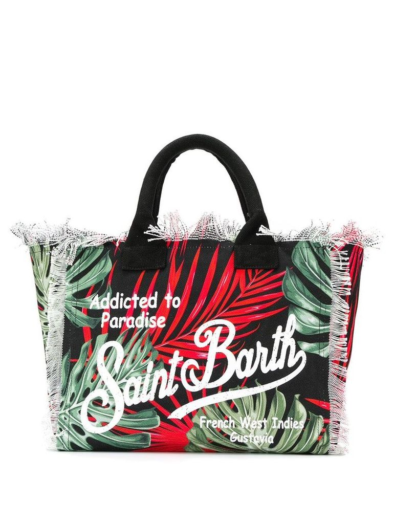 Mc2 Saint Barth Vanity beach bag - Red