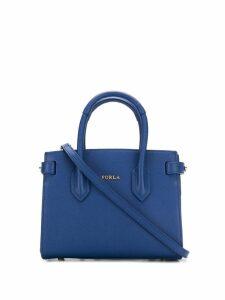 Furla micro Pin tote bag - Blue