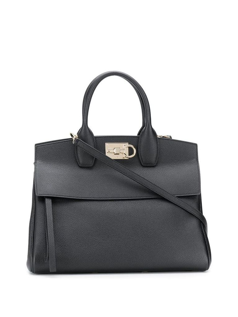 Salvatore Ferragamo Studio tote bag - Black