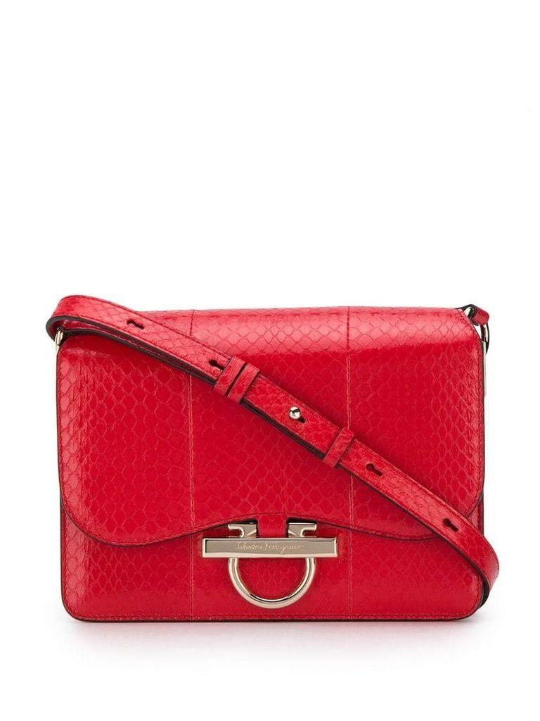 Salvatore Ferragamo foldover cross body bag - Red