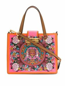 Etro floral print tote bag - Yellow