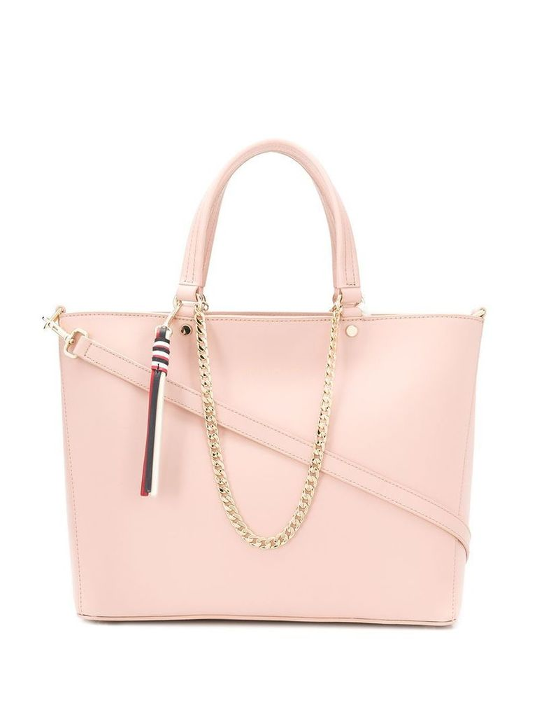 Tommy Hilfiger chain strap tote - Pink