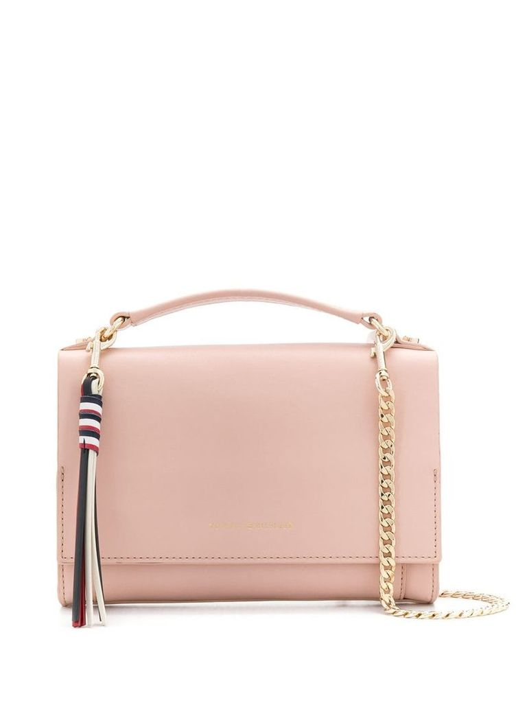 Tommy Hilfiger engraved logo bag - Pink