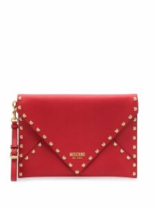 Moschino Teddy bear clutch bag - Red