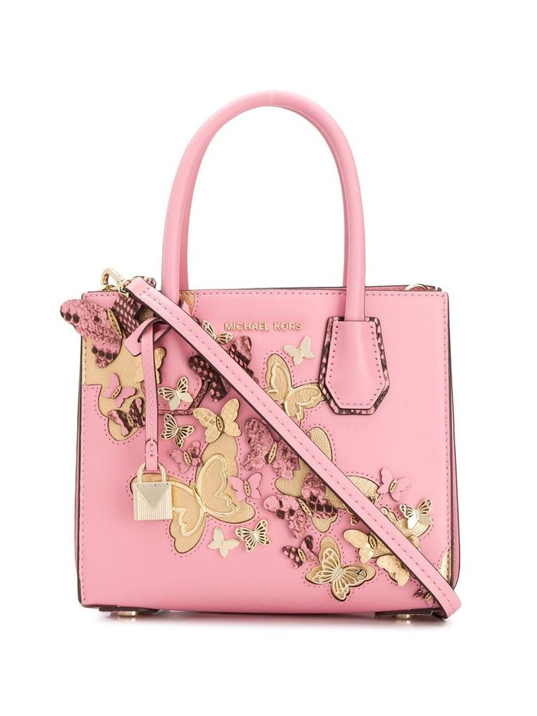 Michael Michael Kors Mercer accordion tote bag - Pink