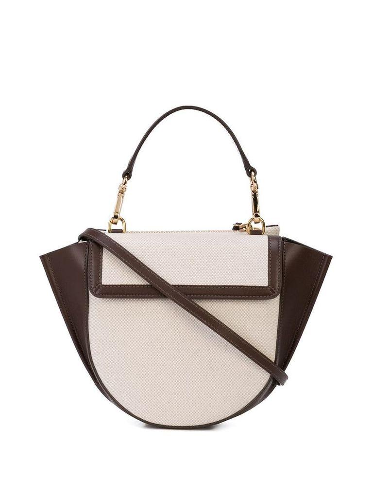 Wandler mini Hortensia shoulder bag - Brown