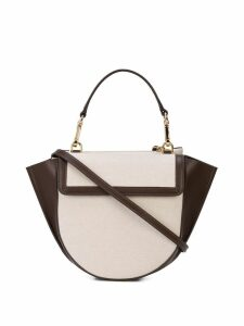 Wandler mini Hortensia shoulder bag - Brown