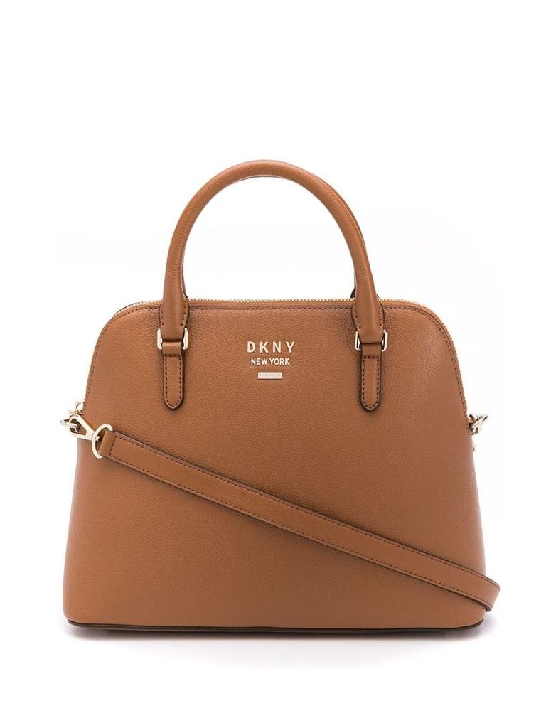 DKNY large Whitney dome bag - Brown