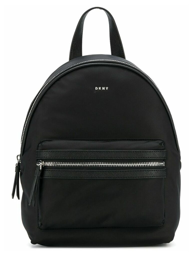 DKNY logo backpack - Black
