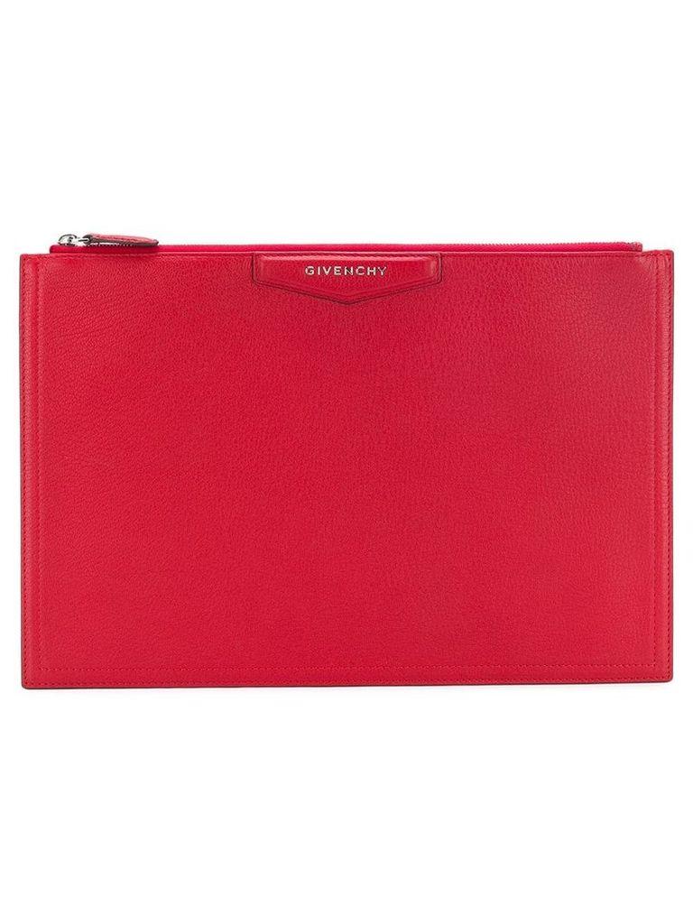 Givenchy Antigona clutch - Red